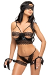 Beauty Night Dessous-Set Shaquila schwarz