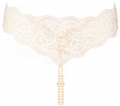 Bracli Dessous Perlenstring ouvert Your Night creme